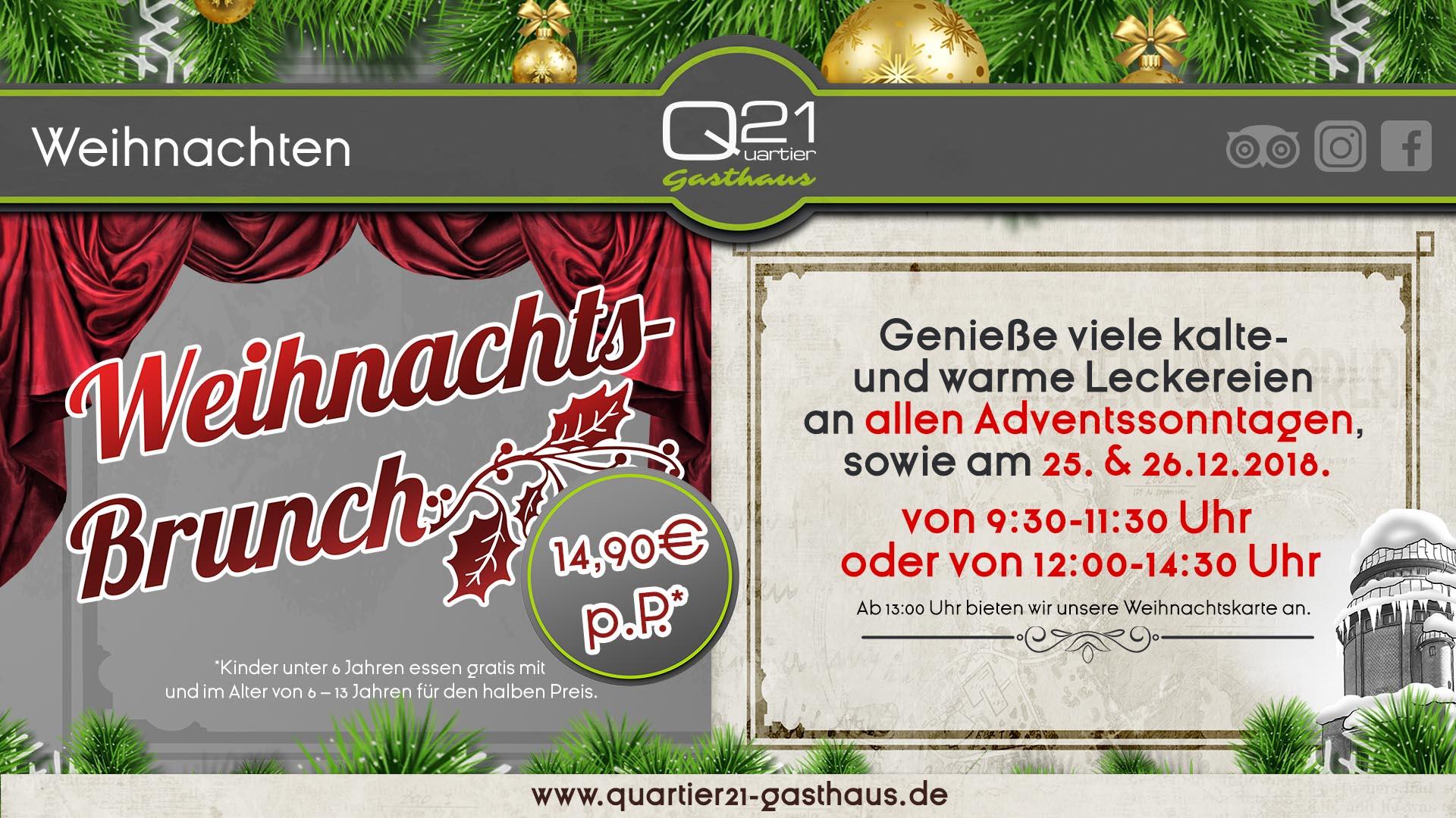2018_10 TV Screen-Facebook HD Q21-Weihnachten - Quartier 21 Gasthaus